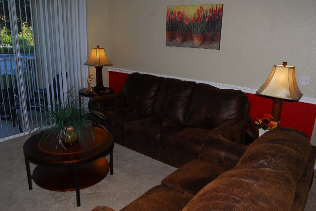Vacation home for rent near Disney World - Living Room 2