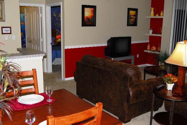Vacation home for rent close to Disney World - Living Room