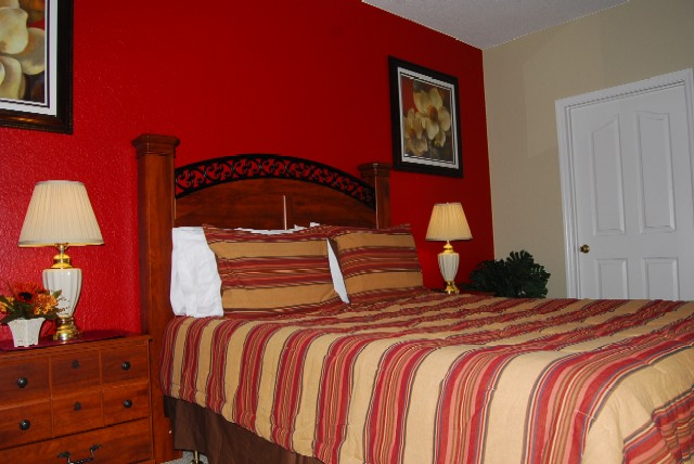 Vacation home for rent in Kissimmee - Master Bedroom